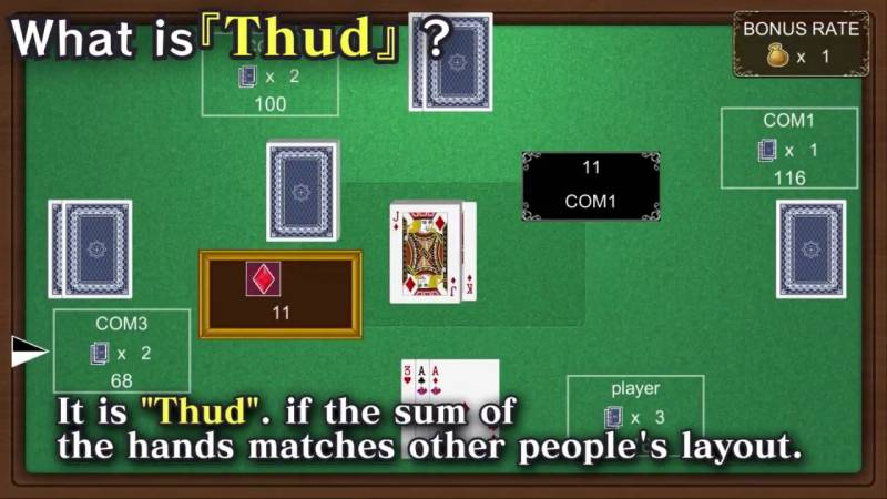 Poisoft Thud Card Nintendo Switch