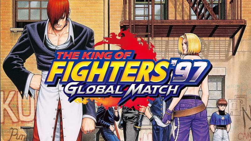 The King of Fighters '97 Global Match PS Vita PS4