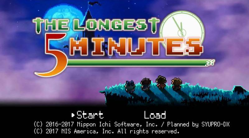 The Longest Five Minutes PS Vita Nintendo Switch