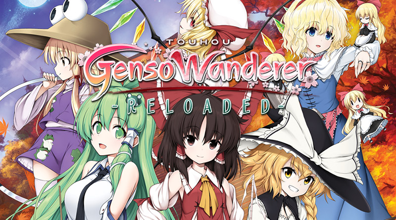 Touhou Genso Wanderer Reloaded Nintendo Switch PS4