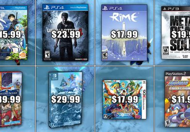 Play-Asia Weekly Special: Sword Art Online: Lost Song, Uncharted 4: A Thief's End & More