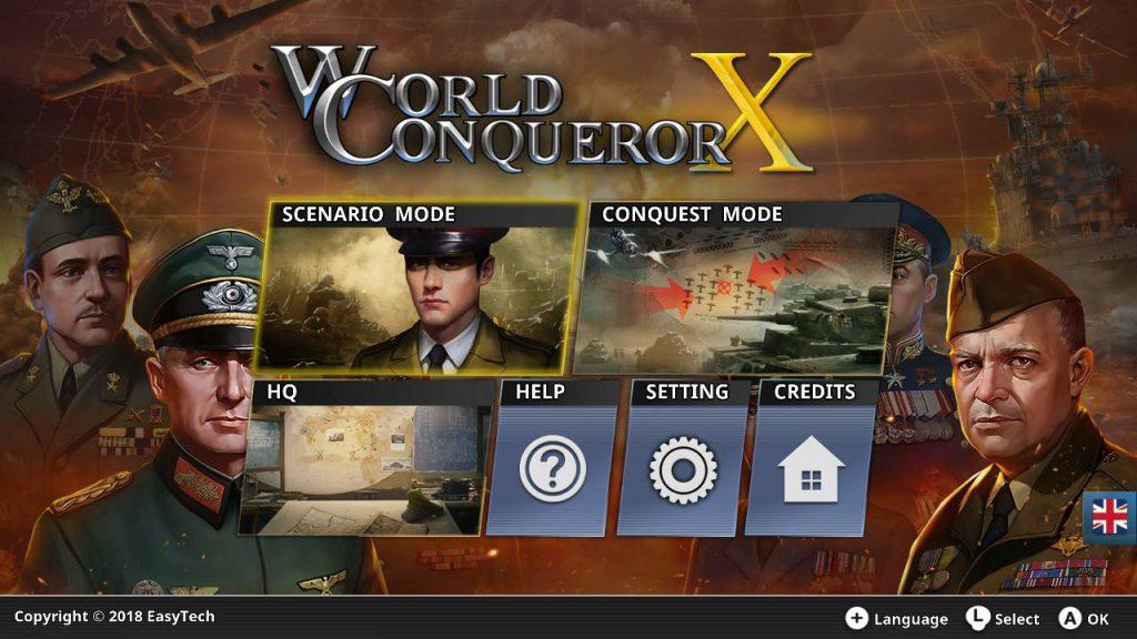 World Conqueror X Nintendo Switch