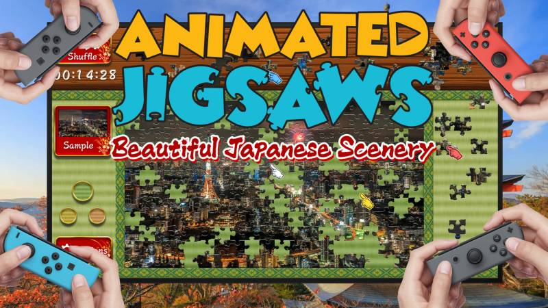 Animated Jigsaws: Beautiful Japanese Scenery Nintendo Switch