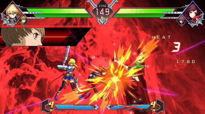 BlazBlue Cross Tag Battle Nintendo Switch PS4