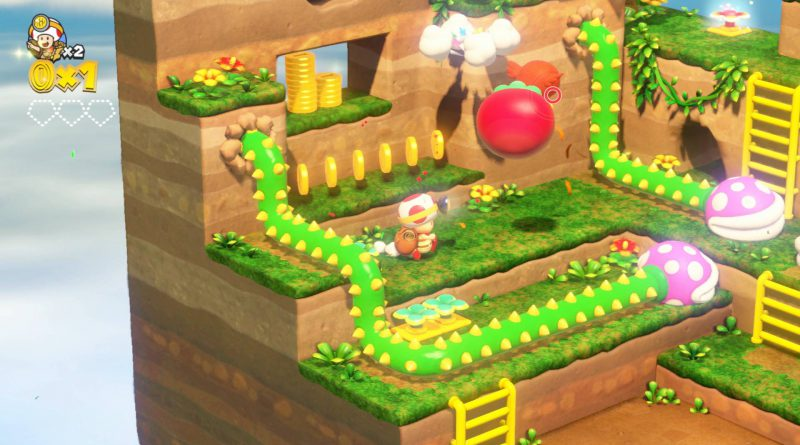 Captain Toad: Treasure Tracker Nintendo Switch 3DS