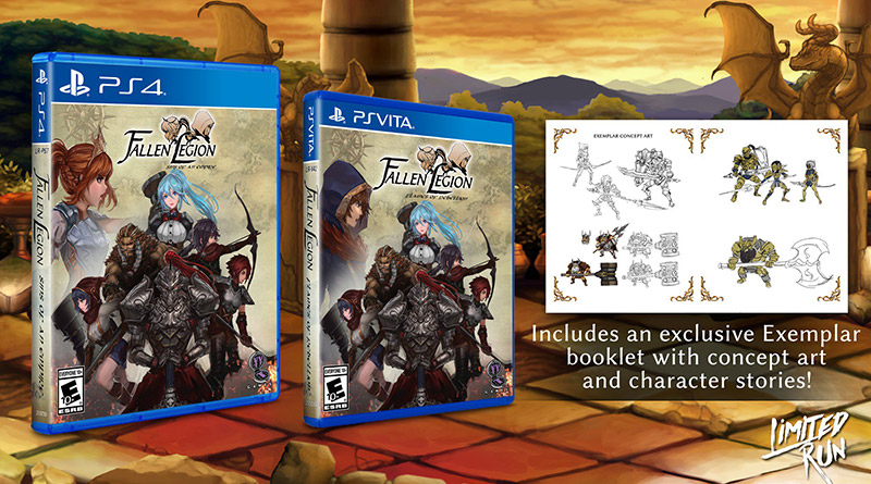Fallen Legion: Flames of Rebellion for PS Vita and Fallen Legion: Sins of an Empire