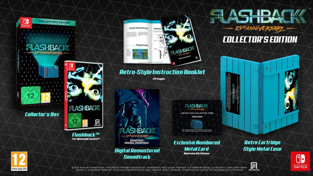 Flashback 25th Anniversary Collector's Edition Nintendo Switch
