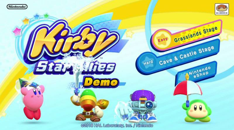 Kirby Star Allies Demo Nintendo Switch
