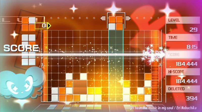 Lumines Remastered Nintendo Switch