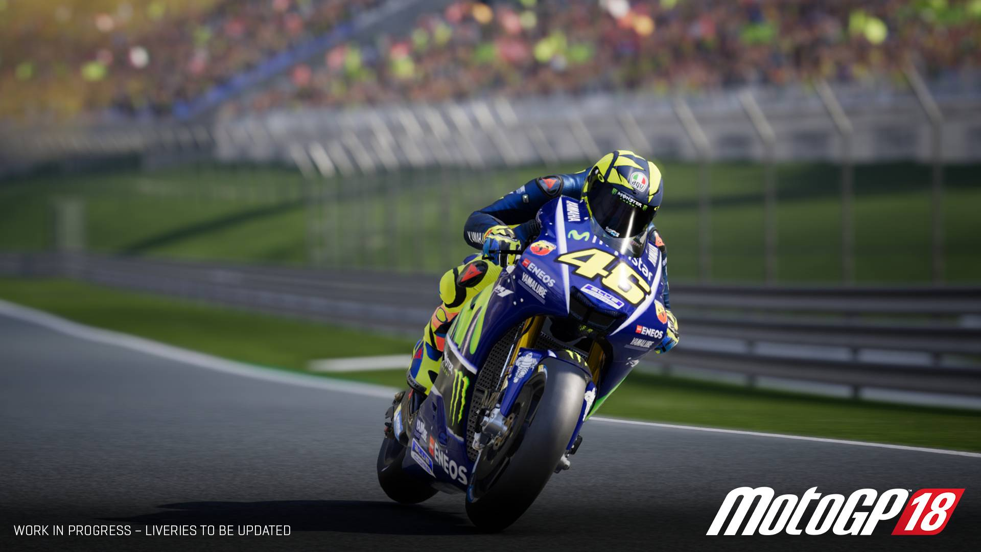 motogp 18 heading to nintendo switch handheld players. Black Bedroom Furniture Sets. Home Design Ideas