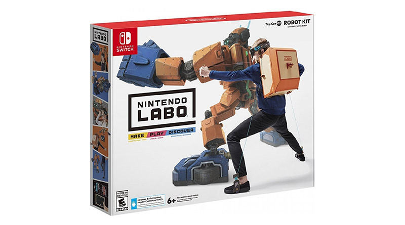 Nintendo Labo Toy-Con 02 Robot Kit Nintendo Switch