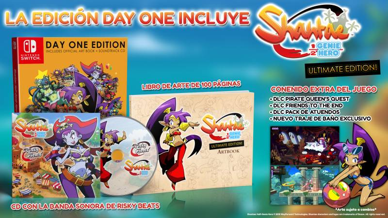 Shantae: Half Genie Hero Ultimate Edition Nintendo Switch