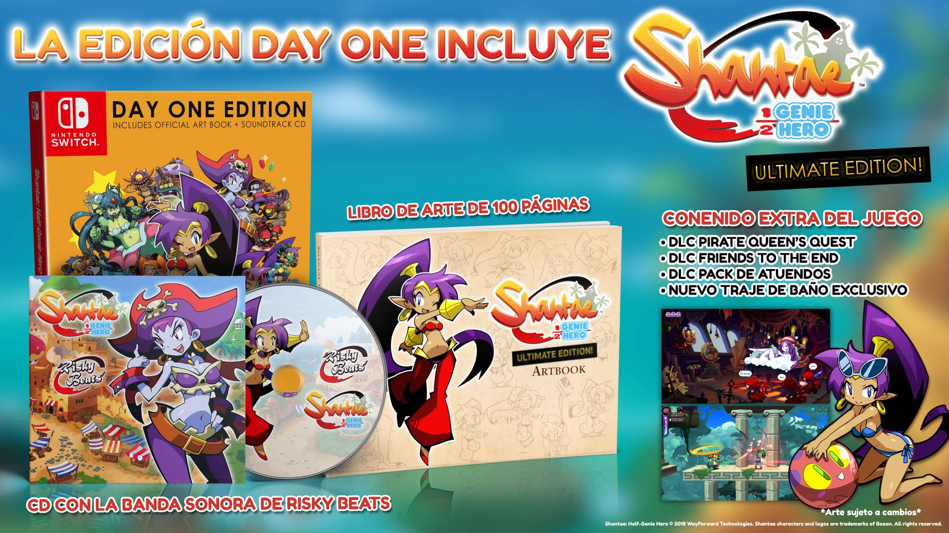 Shantae Half Genie Hero Ultimate Edition Sets Sail For Nintendo