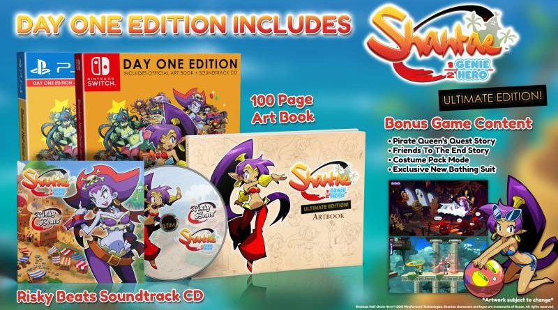 Shantae: Half-Genie Hero Nintendo Switch PS4