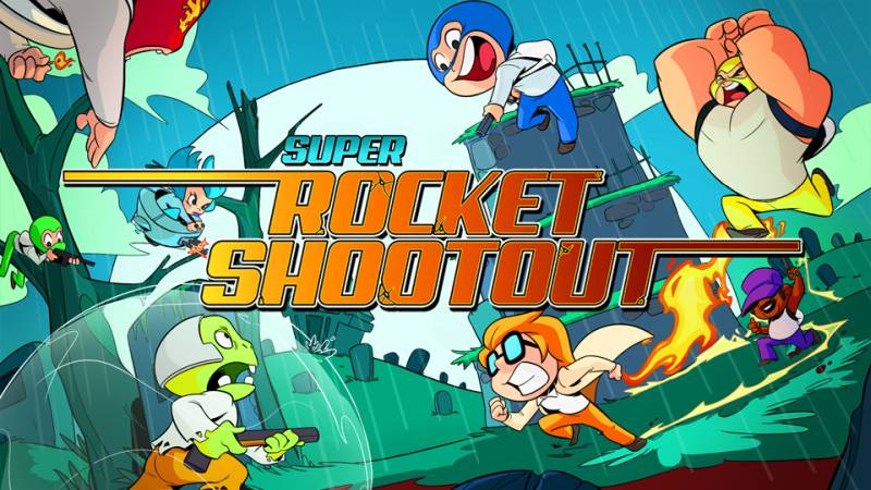 Super Rocket Shootout Nintendo Switch