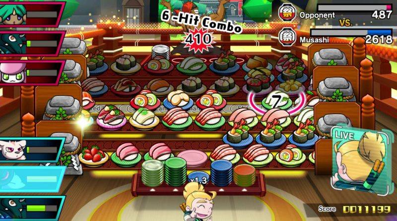 Sushi Striker: The Way of Sushido Nintendo Switch 3DS