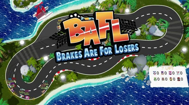 BAFL: Brakes Are For Losers Out Now For Nintendo Switch