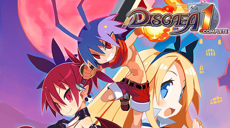 Disgaea 1 Complete Nintendo Switch PS4