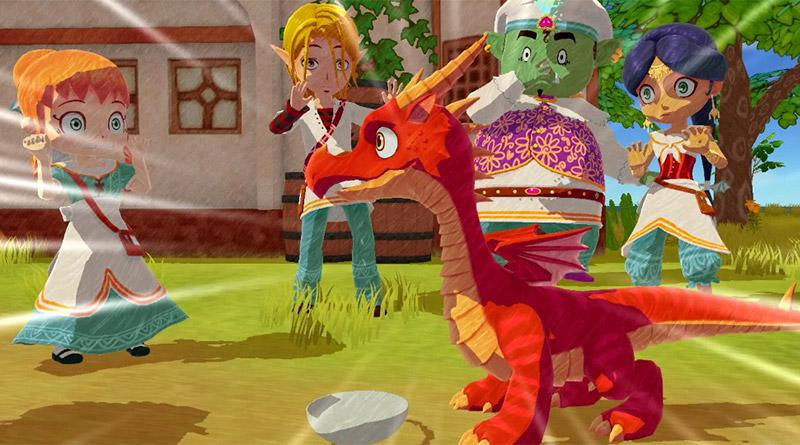 Little Dragons Café Nintendo Switch PS4