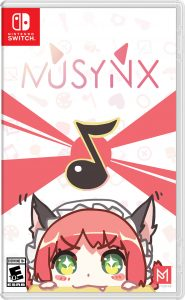 MUSYNX Nintendo Switch Standard Edition Package Art