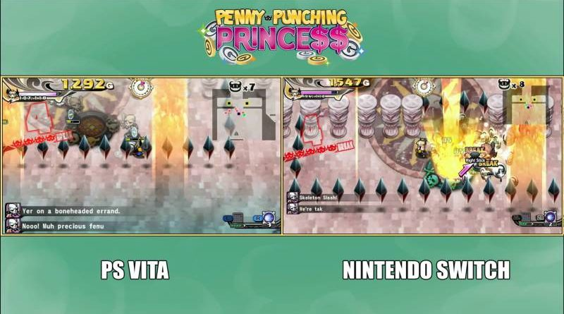 Penny-Punching Princess PS Vita Nintendo Switch