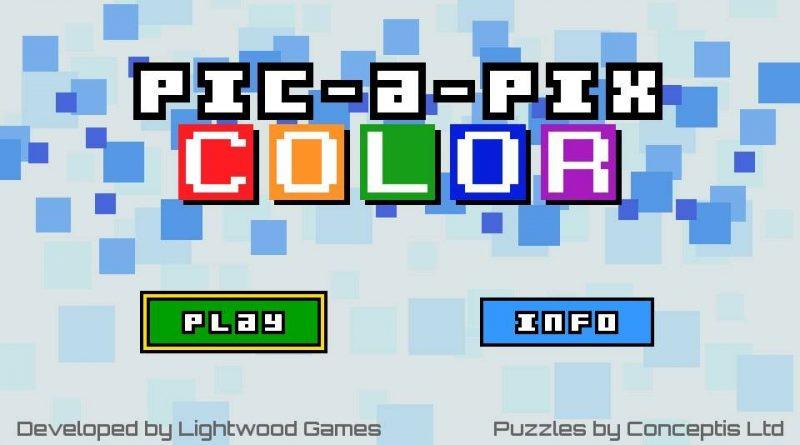 Pic-a-Pix Color PS Vita PS4