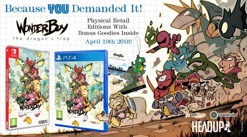 Wonder Boy: The Dragon's Trap Nintendo Switch PS4