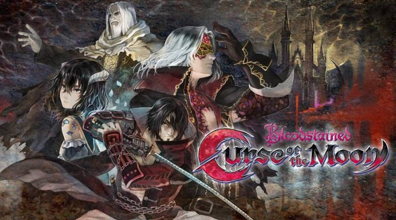 Bloodstained: Curse of the Moon PS Vita PS4 Nintendo Switch 3DS