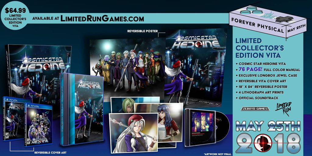 Cosmic Star Heroine PS Vita PS4