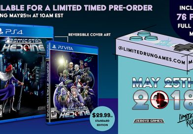 Cosmic Star Heroine & Antiquia Lost Physical Editions Available Today