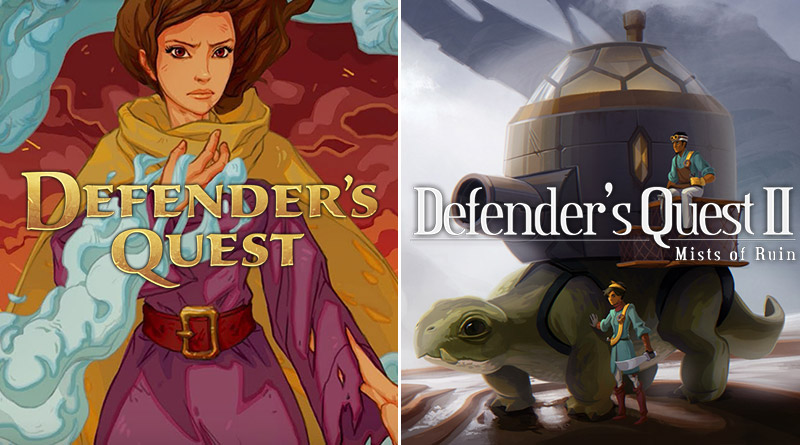 Defender's Quest: Valley of the Forgotten DX Defender's Quest II: Mists of Ruin Nintendo Switch