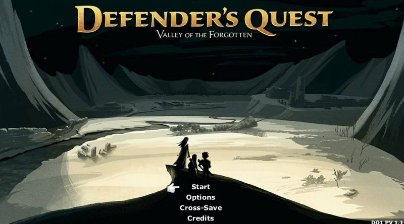 Defender's Quest: Valley of the Forgotten DX PS Vita