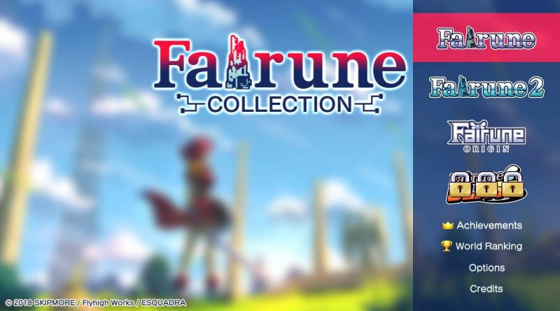 Fairune Collection Nintendo Switch PC