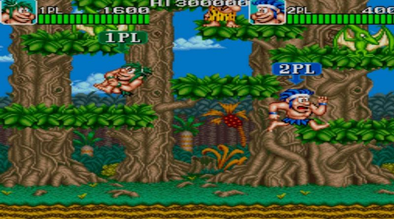 Johnny Turbo's Arcade Joe & Mac / Caveman Ninja Nintendo Switch