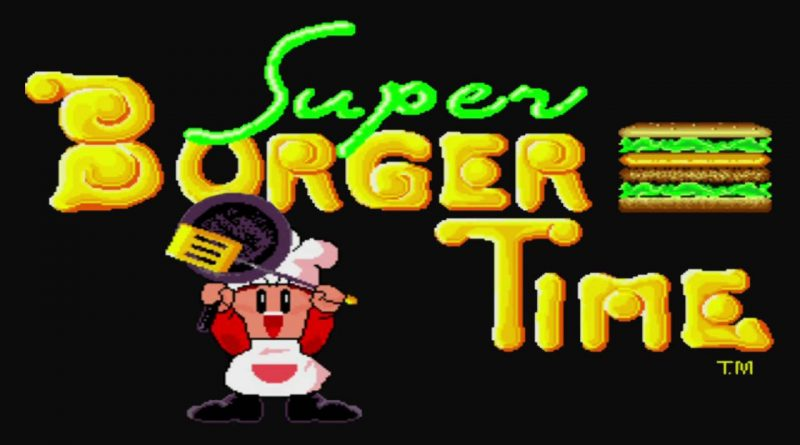 Johnny Turbo's Arcade: Super Burger Time Nintendo Switch