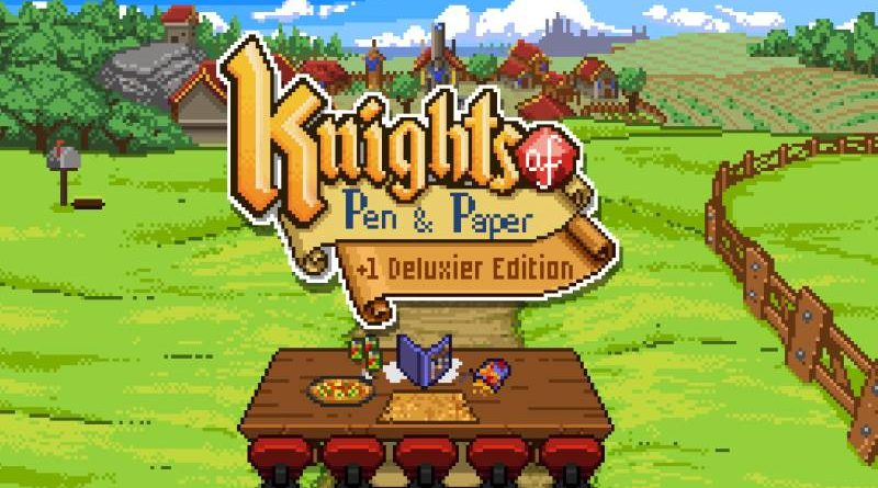 Knights of Pen and Paper +1 Deluxier Edition Nintendo Switch