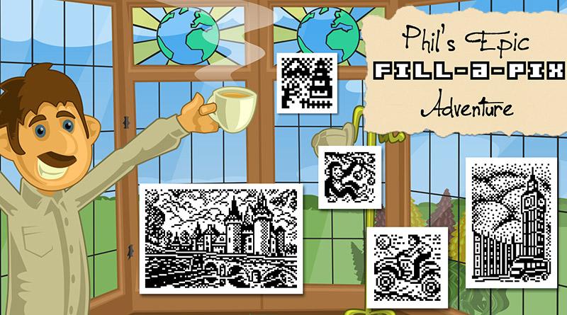 Phil's Epic Fill-a-Pix Adventure PS Vita PS4