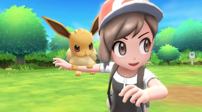 Pokémon: Let's Go, Pikachu! and Pokémon: Let's Go, Eevee! Nintendo Switch