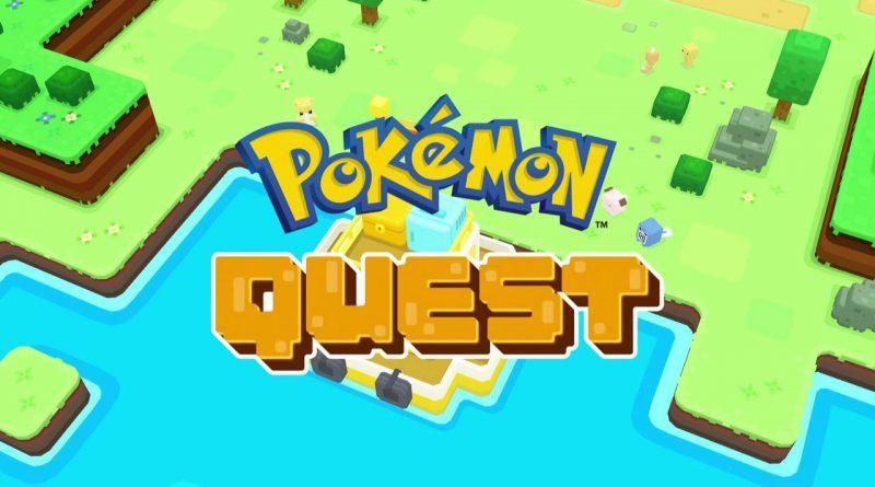 Pokemon Quest Nintendo Switch