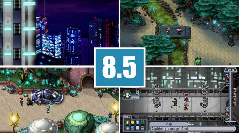 Review Cosmic Star Heroine PS Vita