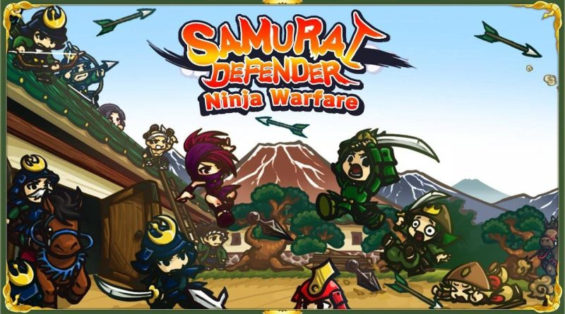 Samurai Defender: Ninja Warfare Nintendo Switch