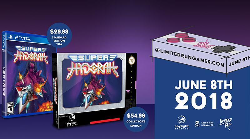 Super Hydorah Physical PS Vita Edition