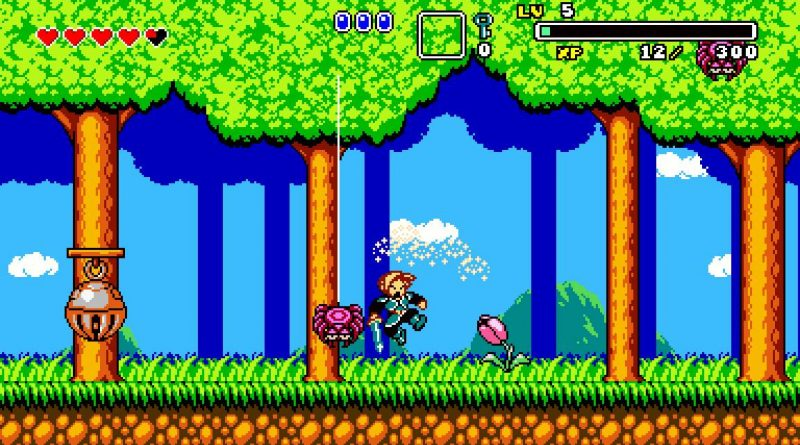 Retro-Styled Action-Adventure Aggelos Coming To Nintendo Switch In 2018