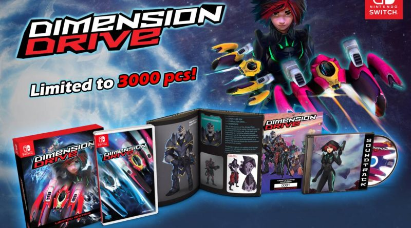 Dimension Drive Nintendo Switch Limited Edition