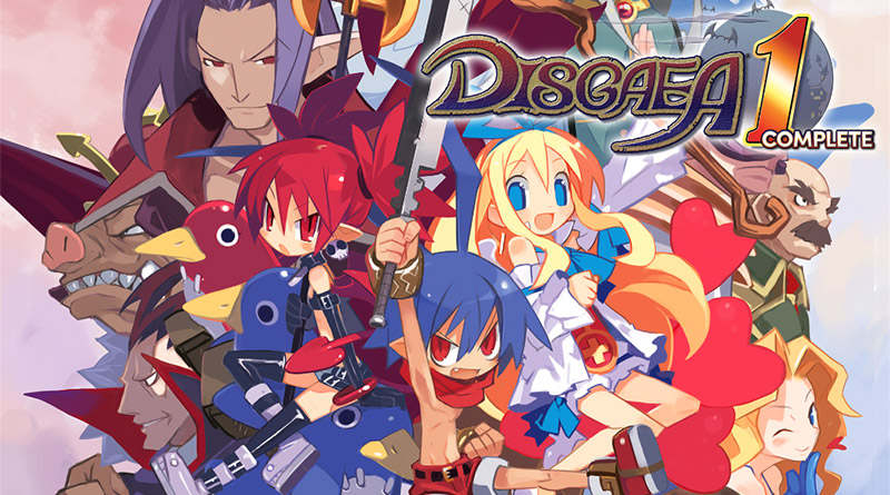Disgaea 1 Complete Nintendo Switch PS4
