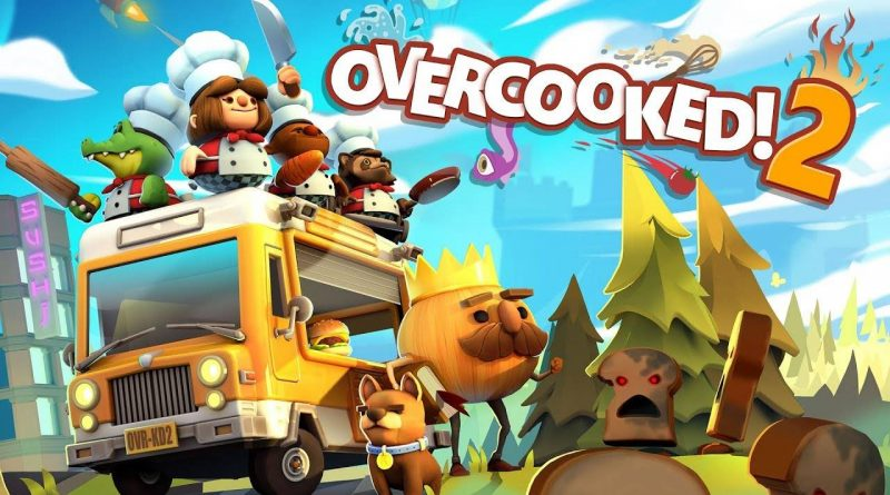 overcooked 2 coming to nintendo switch on august 7 2018. Black Bedroom Furniture Sets. Home Design Ideas