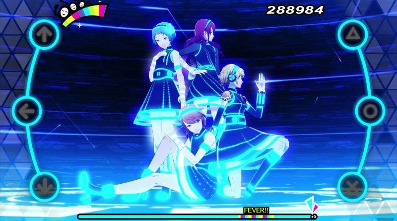 Persona 3: Dancing in Moonlight Persona 5: Dancing in Starlight PS Vita PS4