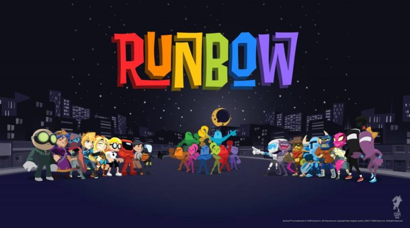 Runbow Nintendo Switch PS4