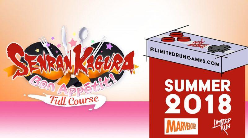 Senran Kagura: Bon Appetit! – Full Course PS Vita
