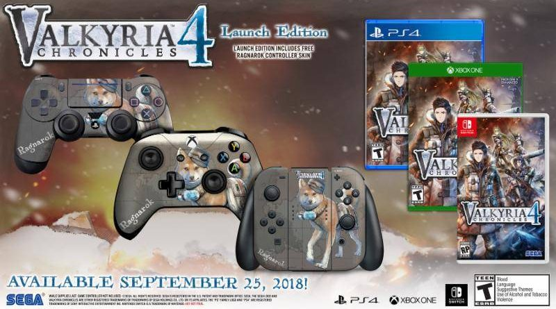 Valkyria Chronicles 4 Launches On September 25, 2018 In The West